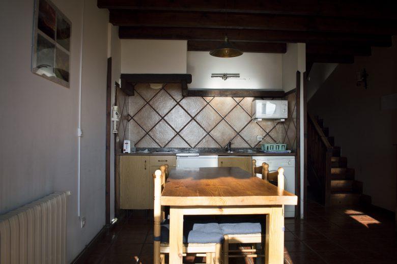 Rincón de la cocina-comedor