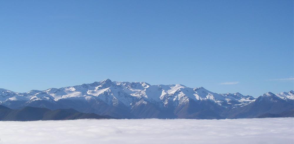 Primeras nieves en los Picos de Europa