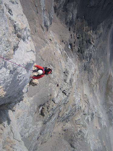 Escalando el Pico Santa Ana