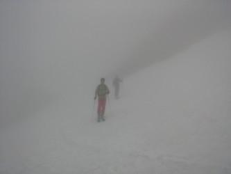 Niebla en la Canal del San Carlos