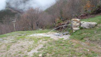 Manan con fuerza las fuentes en esta primavera lluviosa y mas con un invierno de mucha nieve