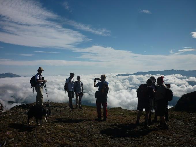 Excursión de media montaña por Peña Prieta de clientes de nuestras casas rurales en cahecho