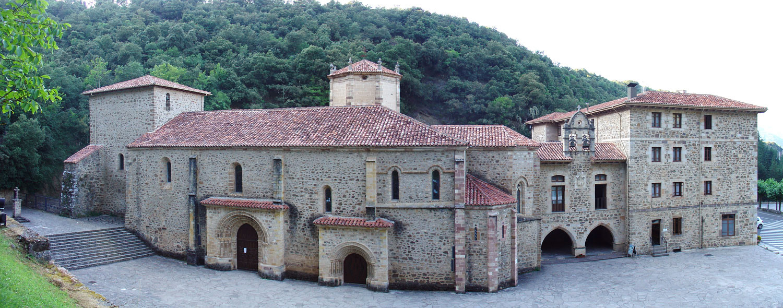 Monasterio de Santo Toribio. En abril del año 2018 se cierra el año santo lebaniego
